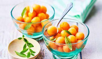 Melon en billes, France