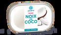 Sorbet noix de coco avec noix de coco râpée