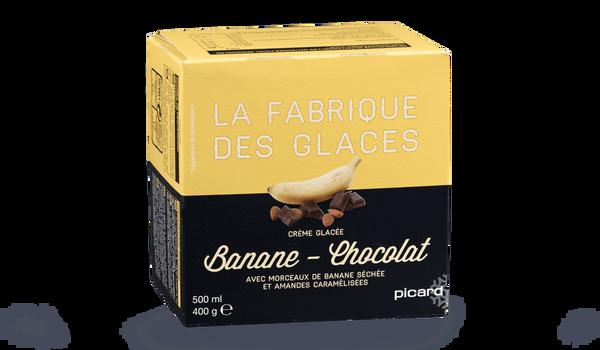 Glace Banane-chocolat