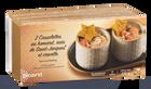 2 Cassolettes au homard, St-Jacques, crevettes