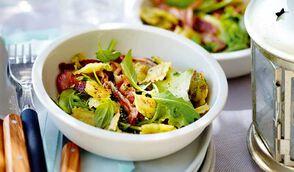 Salade de ravioles grillées