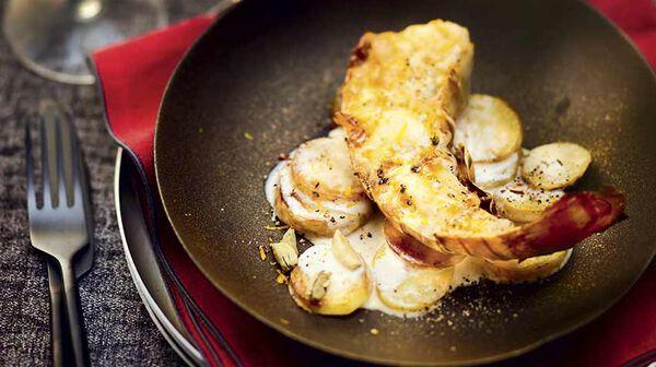 Recette langouste grill e au beurre d agrumes et gratin de - Recette de langouste grillee antillaise ...