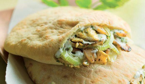 2 Kebabs pains pita à garnir (2 parts)