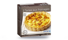 2 tartes aux fromages