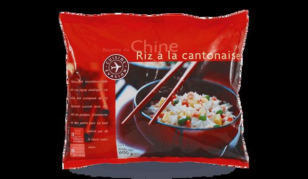Riz à la cantonaise, portionnable