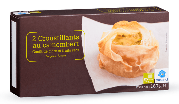 2 croustillants au camembert