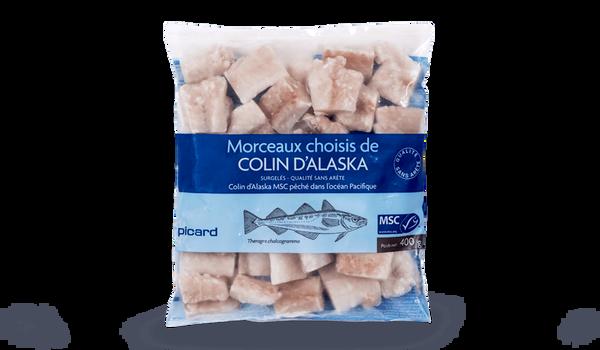 Morceaux choisis de colin d'Alaska MSC, sans arête