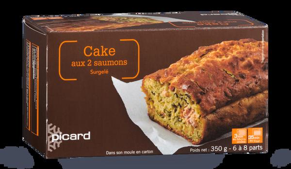 Cake aux 2 saumons, à réchauffer