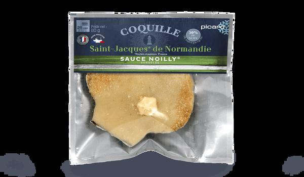 Coquille St-Jacques de Bretagne (Pecten) Noilly