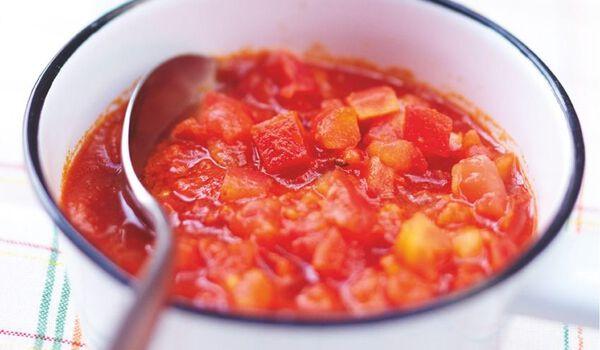 Cubes de tomates à l'italienne