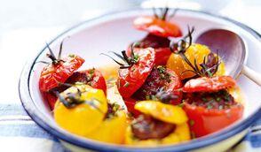 Petites tomates farcies aux boulettes kefta
