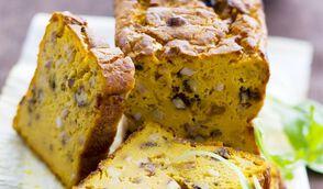 Cake potiron noix raisin