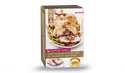Chapon farci, farce au bloc de foie gras de canard