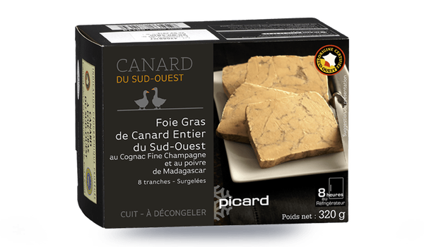 Foie gras canard entier S-O Cognac Fine Champagne