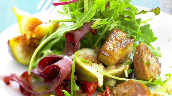Salade toute simple du Sud-Ouest