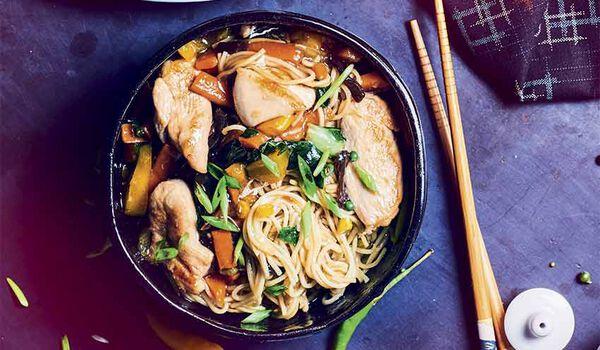 Poulet chop suey