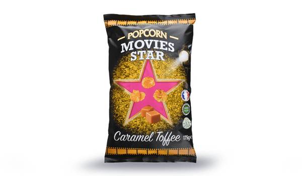 Popcorns Movies Star au Caramel toffee