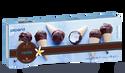 10 mini-cônes vanille