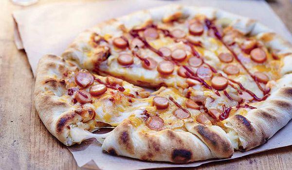 Pizza pâte cheesy