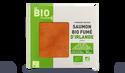 4 tranches saumon bio fumé Irlande, façon traiteur
