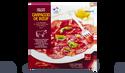 Carpaccio de boeuf, marinade huile d'olive,basilic