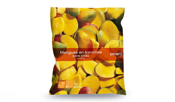 Mangues en tranches, importation