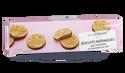 Biscuits meringués noisettes et chocolat au lait