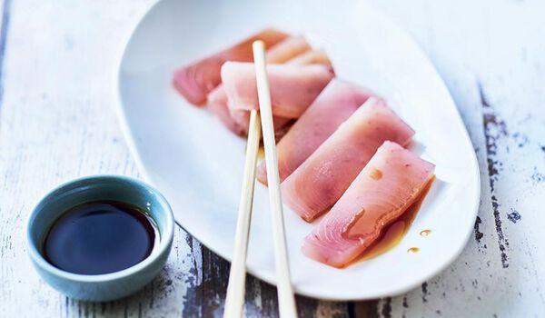 Sashimi de thon germon