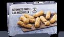 Bâtonnets panés à la mozzarella