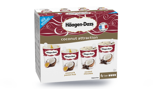 4 mini-pots Coconut Collection