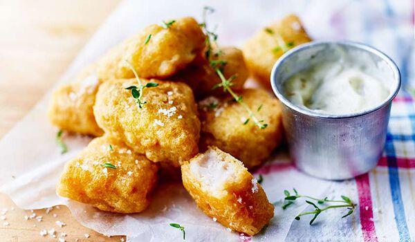 Bouchées colin d'Alaska façon fish and chips MSC