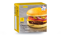 Cheeseburger, viande charolaise, cheddar
