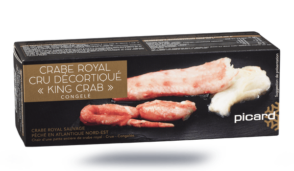 """Crabe royal cru décortiqué """"King crab"""""""