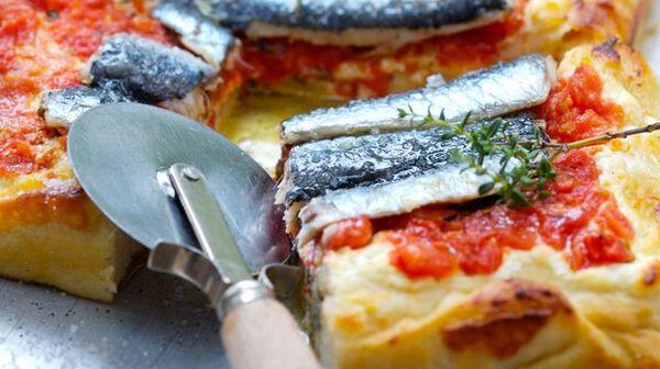 Fougasse aux sardines