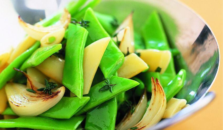 plat haricot vert