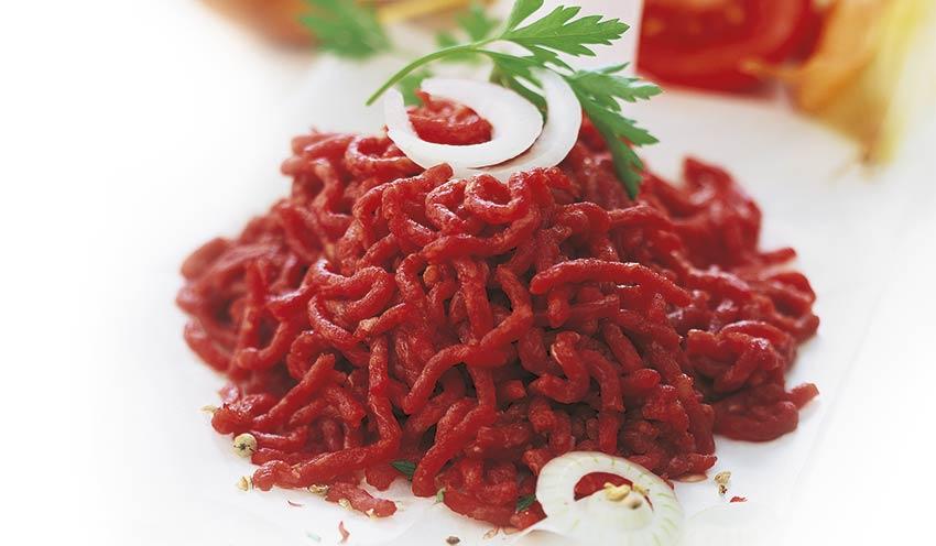 Hach pur boeuf pr t cuisiner surgel s les viandes - Cuisiner le coeur de boeuf ...