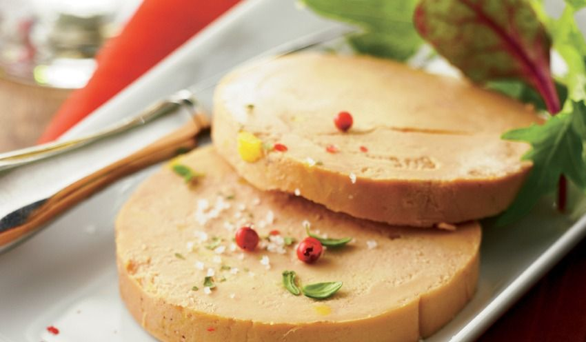 foie gras de canard entier du sud ouest cuit au torchon 2 tranches surgel s les viandes. Black Bedroom Furniture Sets. Home Design Ideas