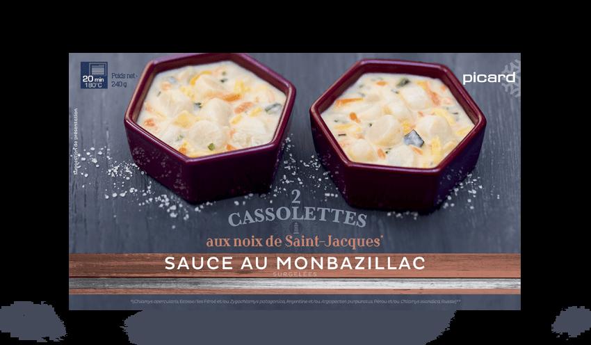2 cassolettes aux noix de saint jacques sauce au - Comment cuisiner les noix de st jacques ...