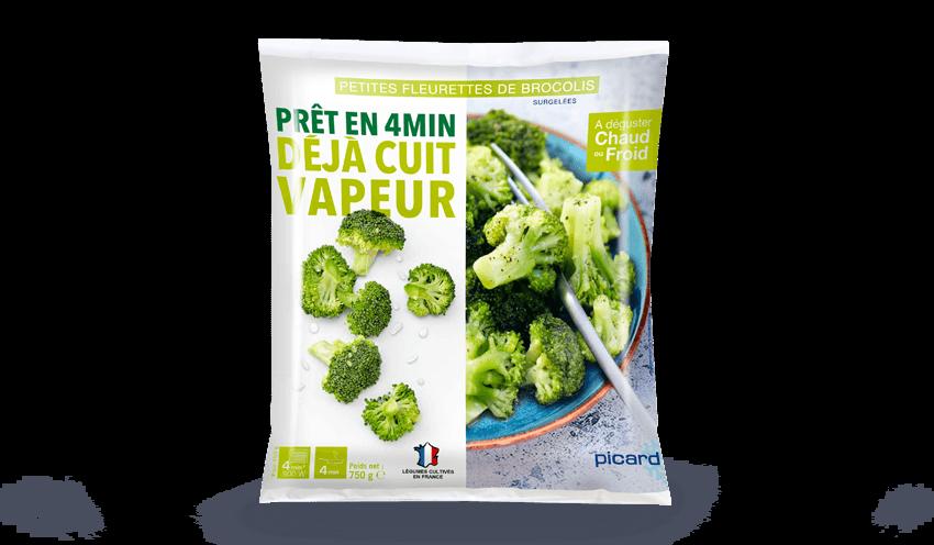 Petites fleurettes de brocolis surgel s les l gumes picard - Cuisiner brocolis surgeles ...