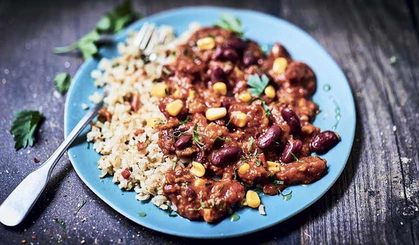 Chili et son riz surgel s les plats cuisin s picard for Picard plats cuisines