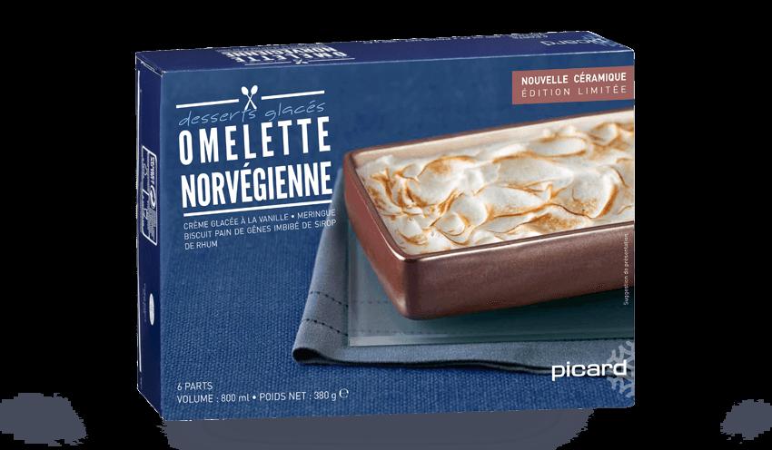 Très Omelette norvégienne surgelés - Les glaces & sorbets - Picard EB26