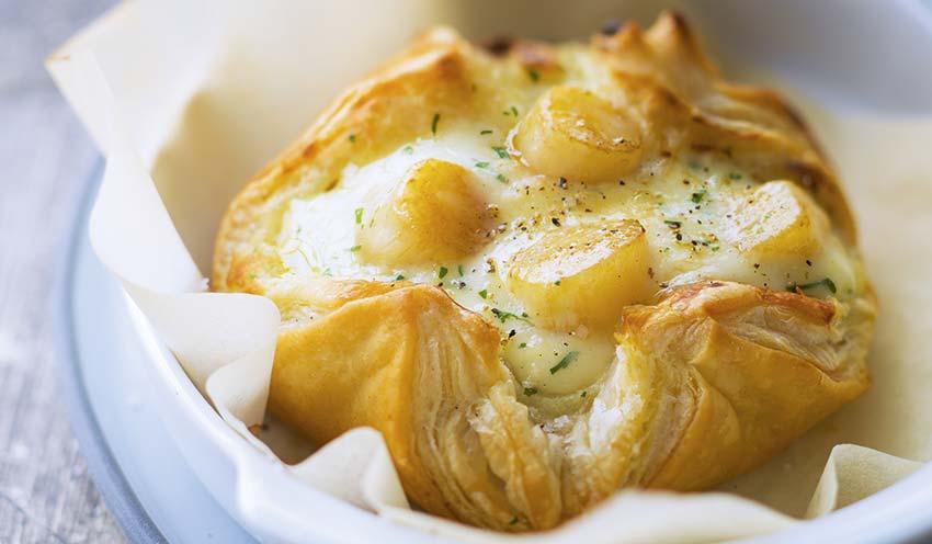4 paniers de noix de saint jacques la bretonne surgel s les entr es tartes et salades picard - Coquille saint jacques bretonne champignons ...