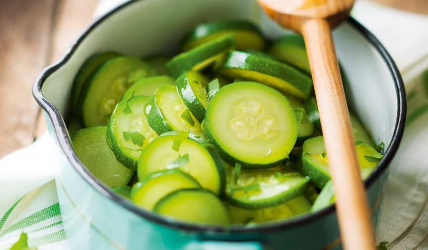 Courgettes en rondelles surgelés - Les légumes - Picard