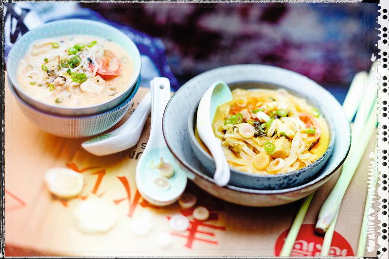Soupes thaïes cuisine évasion Picard