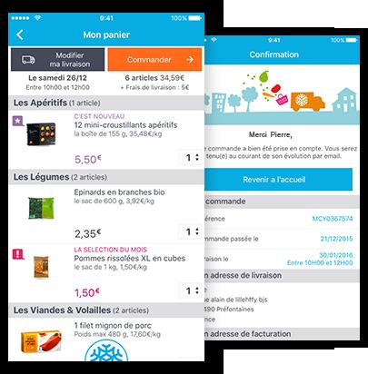 l 39 appli picard pour iphone et android commande en ligne livraison domicile infos produits. Black Bedroom Furniture Sets. Home Design Ideas