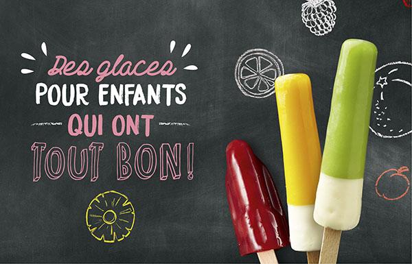 Des glaces pour enfants qui ont tout bon !