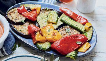 Mélange de légumes grillés, Italie