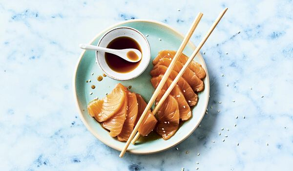 Sashimi de saumon atlantique