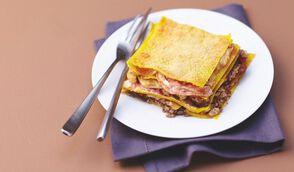 Lasagnes de cèpes à la ricotta et pancetta