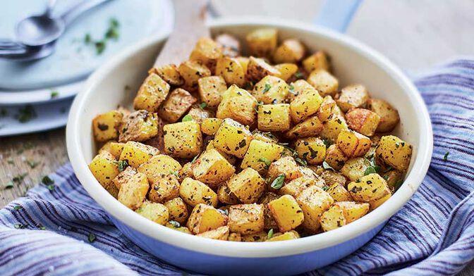 Poêlée de pommes de terre bio